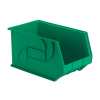 "18"" L x 11"" W x 10"" Hgt. Green Hang & Stack Bin"