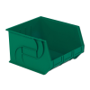 "18"" L x 16-1/2"" W x 11"" Hgt. Green Hang & Stack Bin"
