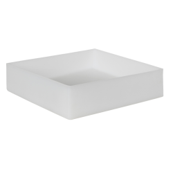 "12"" L x 12"" W x 3"" Hgt. Natural Tamco® Tray"