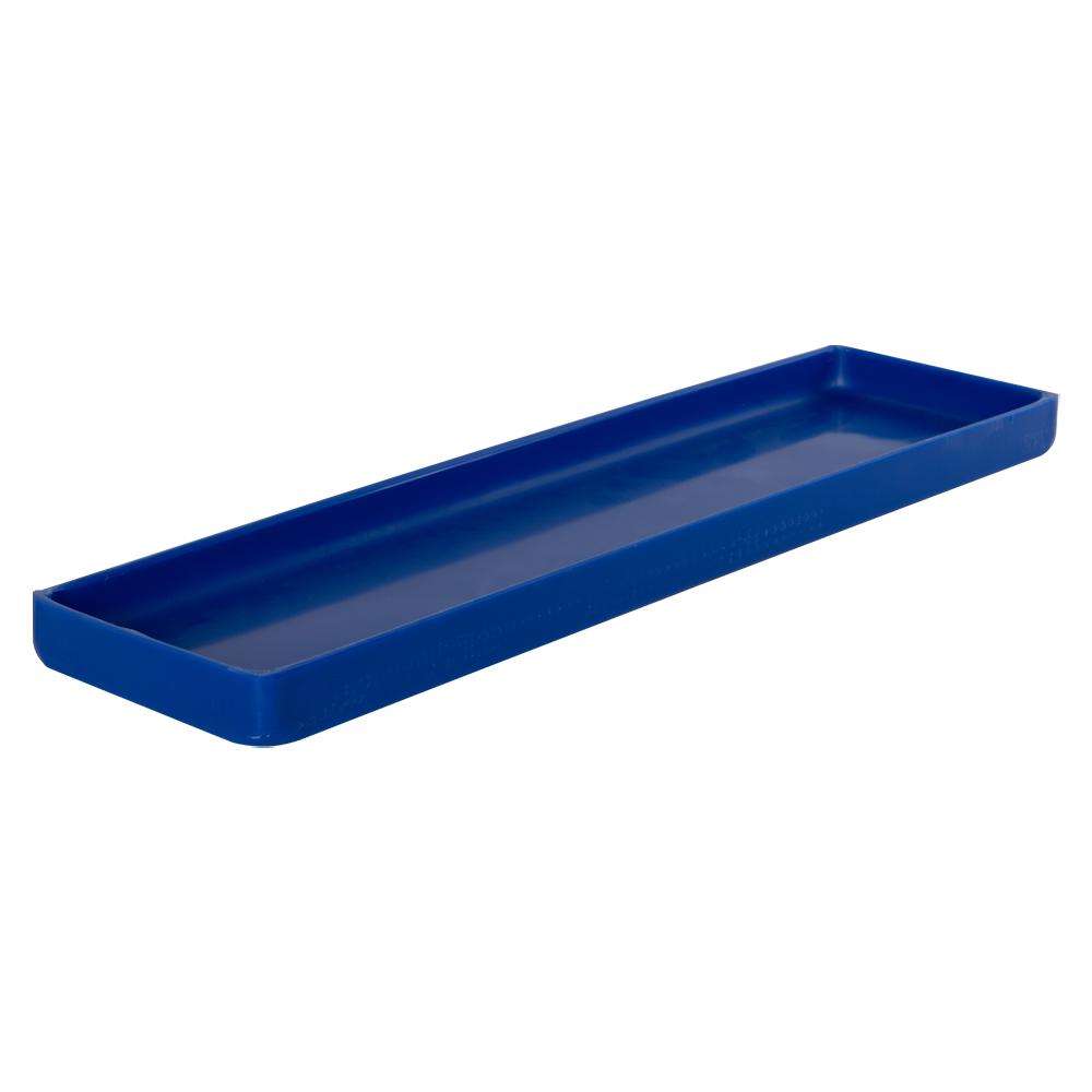 "20"" L x 6"" W x 1-1/4"" Hgt. Blue Tamco® Tray"
