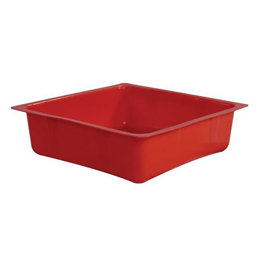 Orange 1 Gallon HDPE Drip Pan