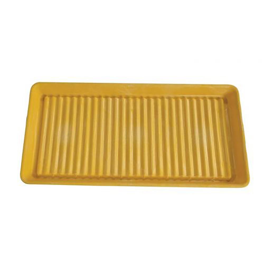 Yellow 5 Gallon HDPE Spill Tray