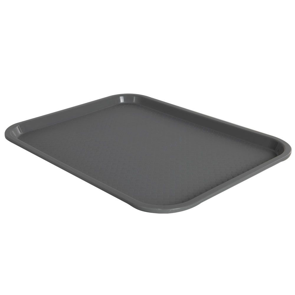 Gray and Red Polypropylene Trays