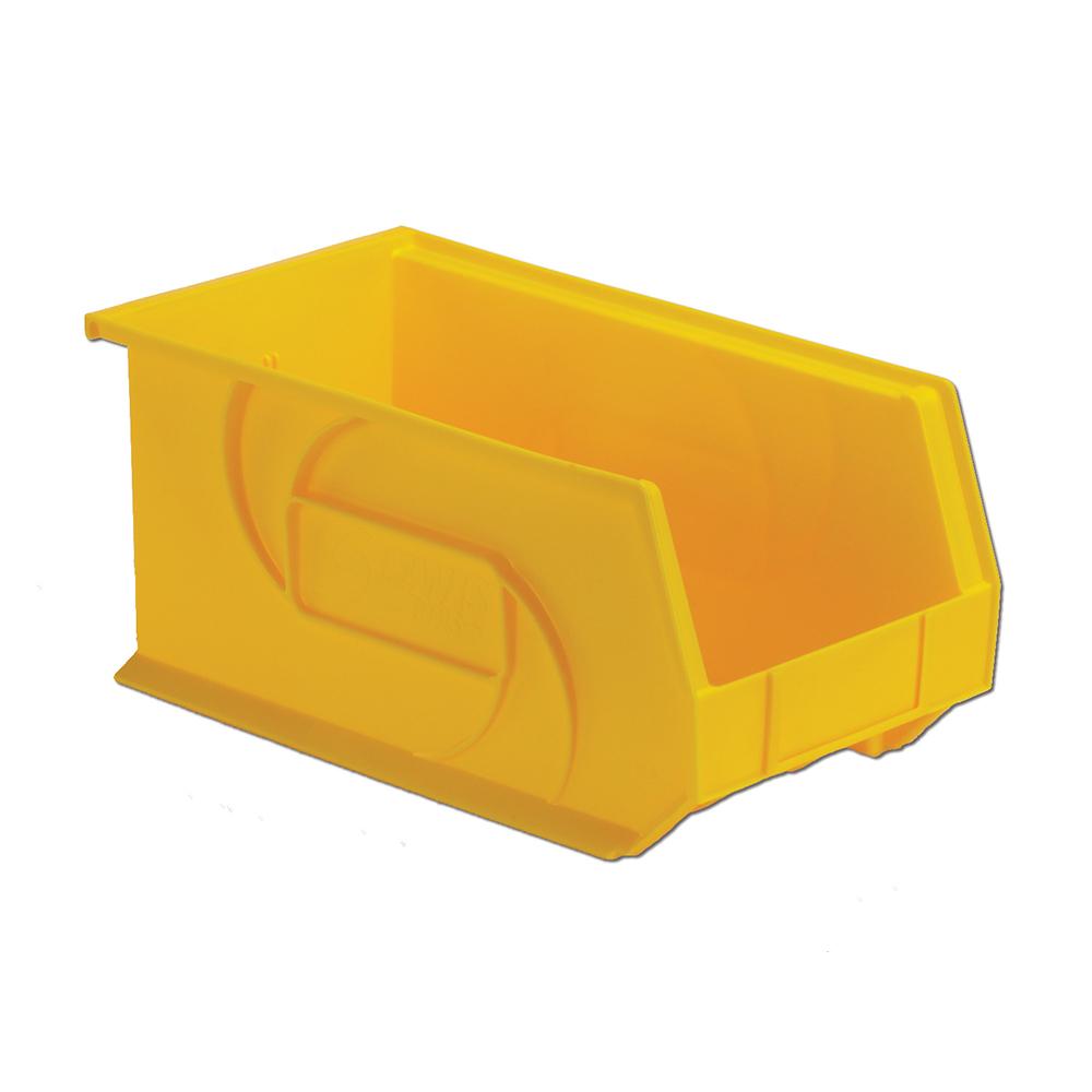 "14-3/4"" L x 8-1/4"" W x 7"" Hgt. Yellow Hang & Stack Bin"