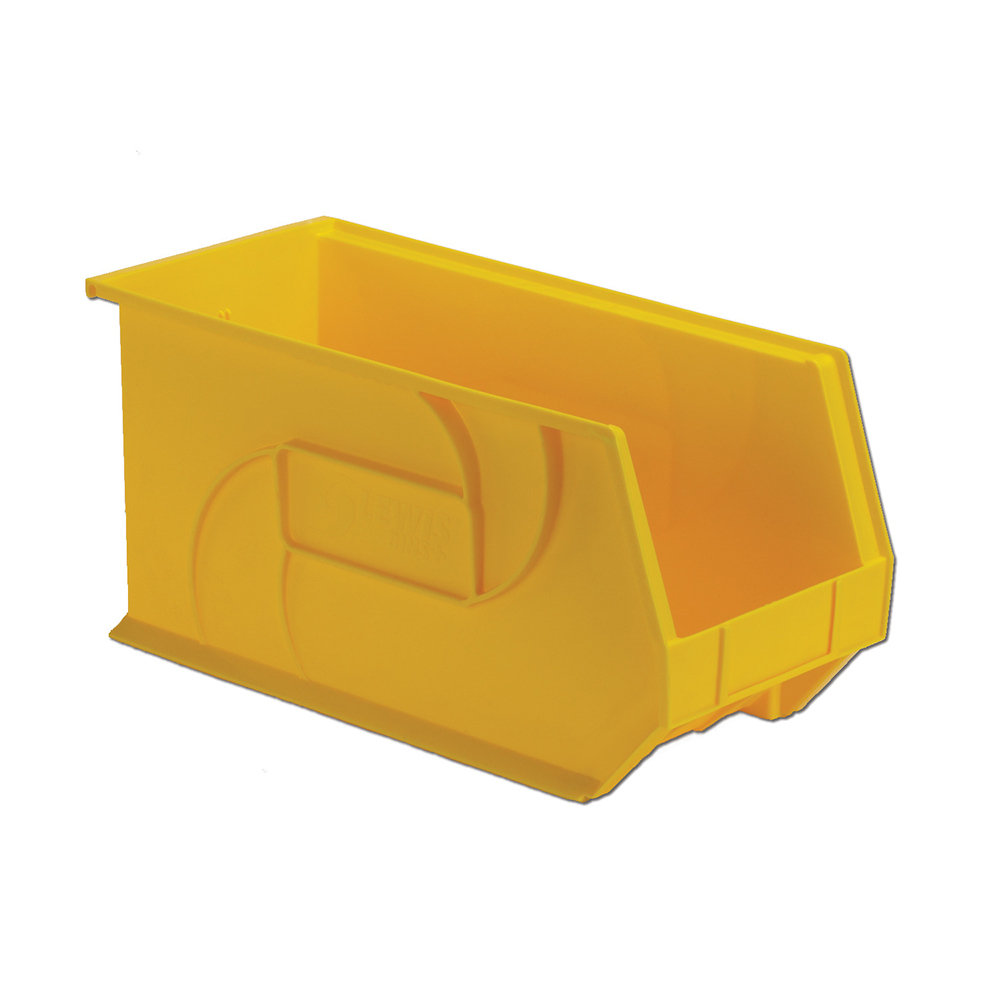 "18"" L x 8-1/4"" W x 9"" Hgt. Yellow Hang & Stack Bin"