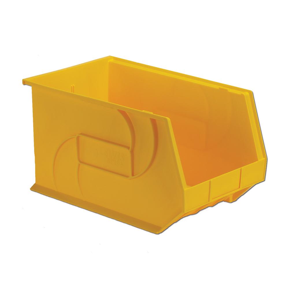 "18"" L x 11"" W x 10"" Hgt. Yellow Hang & Stack Bin"