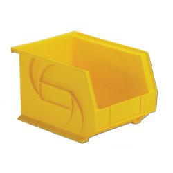 "10-3/4"" L x 8-1/4"" W x 7"" Hgt. Yellow Hang & Stack Bin"
