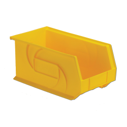 "14-3/4"" L x 8-1/4"" W x 7"" Hgt. Yellow Hang & Stack Bin"