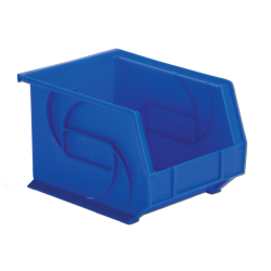 "10-3/4"" L x 8-1/4"" W x 7"" Hgt. Blue Hang & Stack Bin"