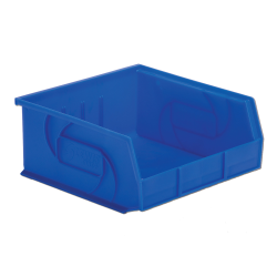 "10-7/8"" L x 11"" W x 5"" Hgt. Blue Hang & Stack Bin"