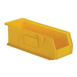 "14-3/4"" L x 5-1/2"" W x 5"" Hgt. Yellow Hang & Stack Bin"