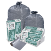 10 Gallon Gray LDPE Trash Can Liners