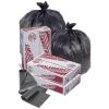 10 Gallon Economy Black HDPE Trash Can Liner