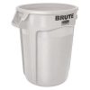 "10 Gallon White Rubbermaid® Brute® 17-1/8"" x 15-5/8"""