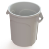 20 Gallon White Value Plus Trash Container