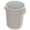 32 Gallon White Value Plus Trash Container
