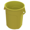 32 Gallon Yellow Value Plus Trash Container