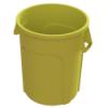 32 Gallon Yellow Value Plus Trash Container