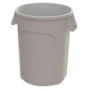 44 Gallon White Value Plus Trash Container