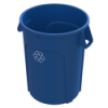 44 Gallon Blue Value Plus Recycling Container