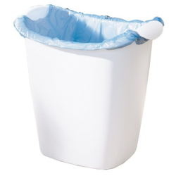 Rubbermaid® Recycle Bag Wastebasket