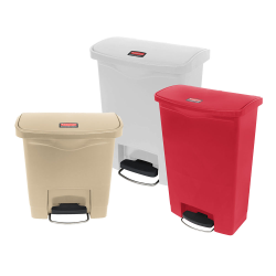 Rubbermaid® Step-on Containers