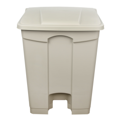 17 Gallon Tan Step-On Trash Can