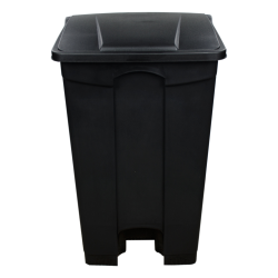 23 Gallon Black Step-On Trash Can
