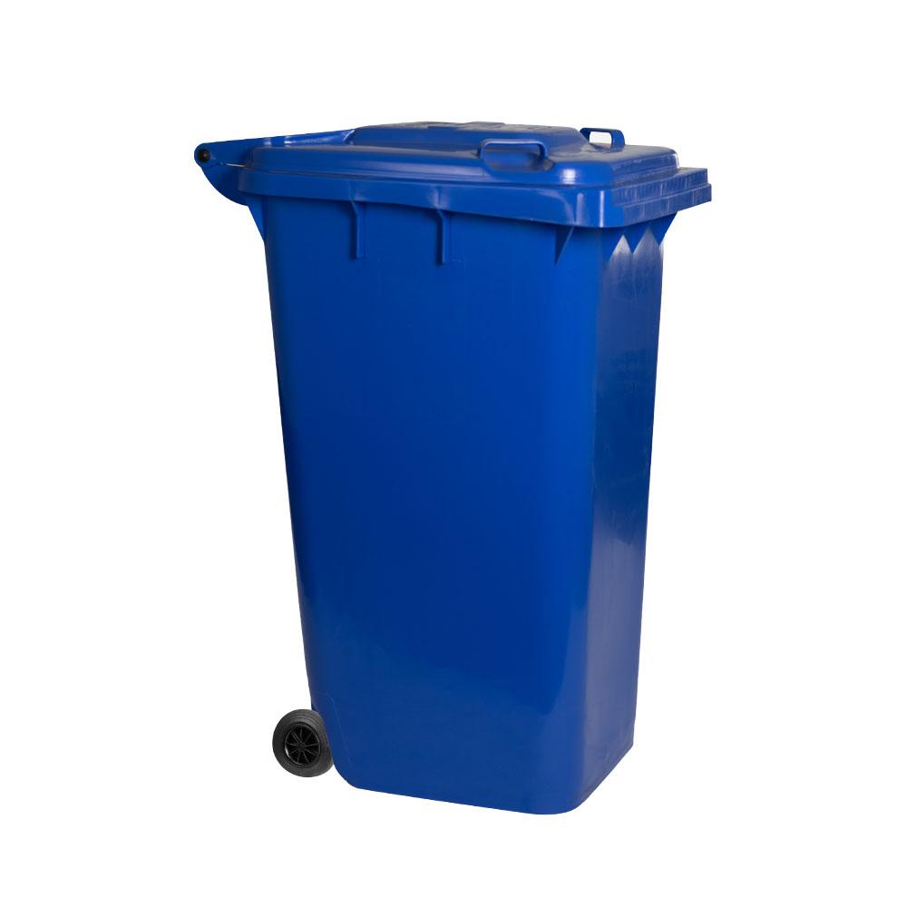"64 Gallon Blue  Big Wheel Container 29"" x 23"" x 42"" Blue"