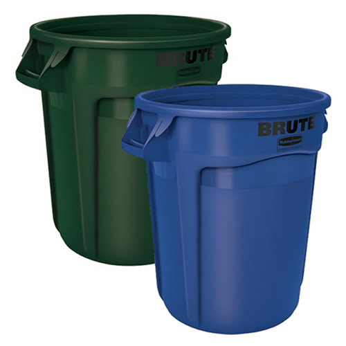 Rubbermaid® 44 Gallon Brute® & Accessories