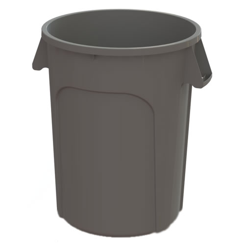 44 Gallon Gray Value Plus Trash Container