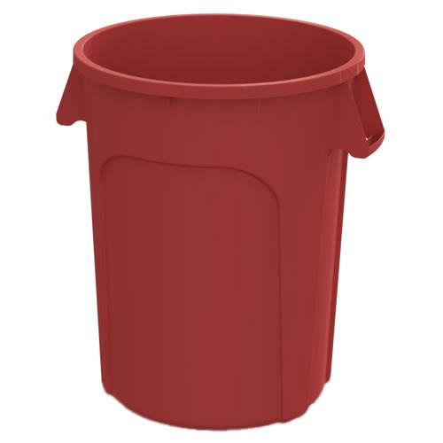 44 Gallon Red Value Plus Trash Container
