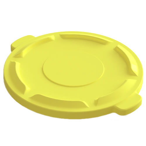 Yellow Lid for 32 Gallon Value Plus Container
