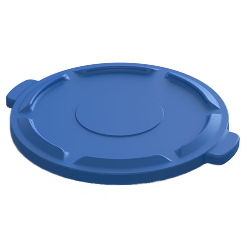 Blue Lid for 44 Gallon Value Plus Container