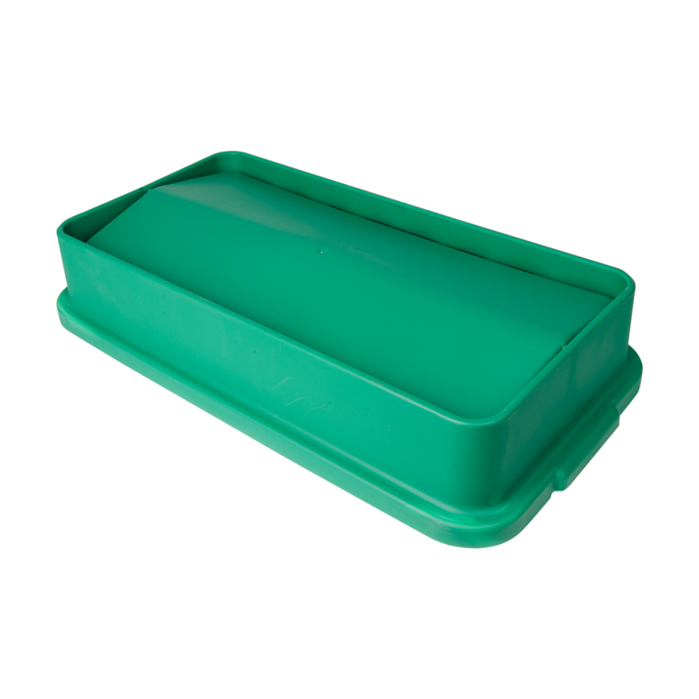 Green Swing Lid for 23 Gallon Slim Containers