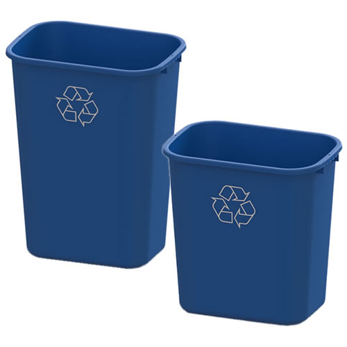 Recycling 28 & 41 Quart Wastebaskets