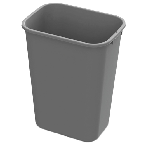 41 Quart Gray Wastebasket