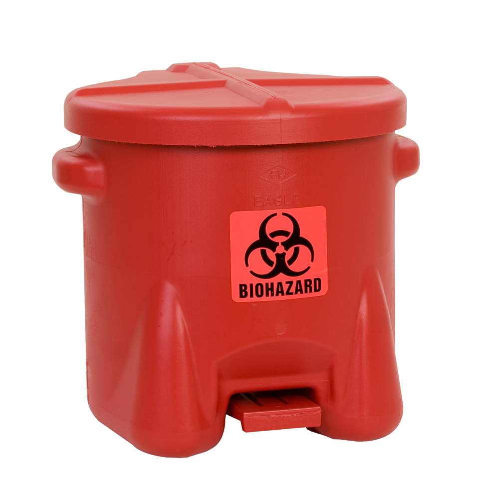 Eagle Biohazardous Waste Cans