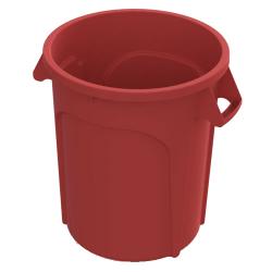 20 Gallon Red Value Plus Trash Container
