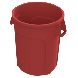 32 Gallon Red Value Plus Trash Container