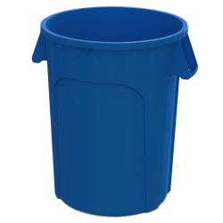 44 Gallon Blue Value Plus Trash Container