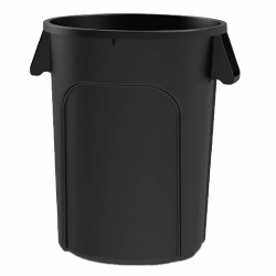 44 Gallon Black Value Plus Trash Container