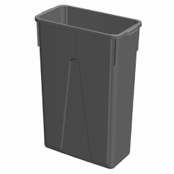 23 Gallon Gray Slim Container