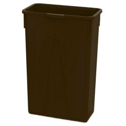 23 Gallon Brown Slim Container