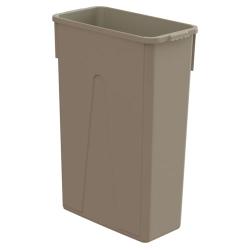 23 Gallon Beige Slim Container