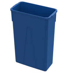 23 Gallon Blue Slim Container