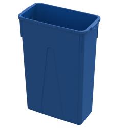 23 Gallon Blue Slim Container