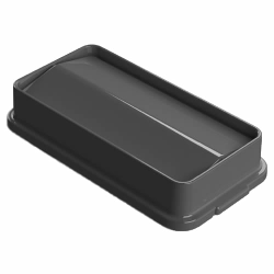 Gray Swing Lid for 23 Gallon Slim Containers