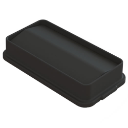 Black Swing Lid for 23 Gallon Slim Containers