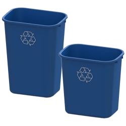 Recycling 28 & 41 Quart Wastebaskets